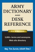 Tapa del libro Army Dictionary And Desk Reference