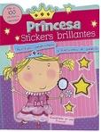 Tapa del libro Princesa Stickers Brillantes