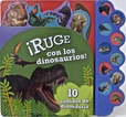 Tapa del libro 10 Sonidos - Ruge con los Dinosaurios