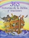 Tapa del libro 365 Historias de la Biblia y Oracion
