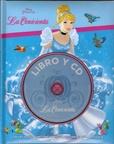 Tapa del libro Disney Libro y Cd: la Cenicienta