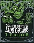 Tapa del libro Coloree desde el Lado Oscuro - Terror