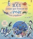 Tapa del libro 1001 Cosas que Buscar en el Mar - con Pegatinas