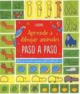 Tapa del libro Aprende a Dibujar Animales Paso a Paso