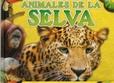 Tapa del libro Imágenes Enormes con Datos - Animales de la Selva