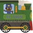 Tapa del libro Vehiculos de Carton: el Tren