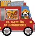 Tapa del libro Vehiculos de Carton: el Camion de Bomberos