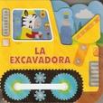 Tapa del libro Vehiculos de Carton: la Excavadora