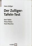 Tapa del libro Der Zulliger - Tafeln - Test
