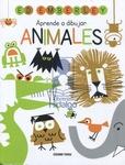 Tapa del libro Aprende a Dibujar Animales