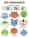 Tapa del libro Aprende a Dibujar Personajes