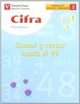 Tapa del libro Cifra C-3 Sumar y Restar hasta el 99