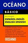 Tapa del libro Oceano Diccionario Basico Español Ingles