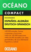 Tapa del libro Oceano Diccionario Compact Aleman Español