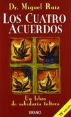 Tapa del libro Los Cuatro Acuerdos -Un Libro de Sabiduria Tolteca-