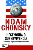 Tapa del libro Hegemonia o Supervivencia