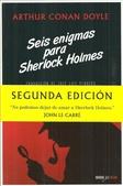 Tapa del libro Seis Enigmas para Sherlock Holmes