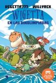 Tapa del libro Wigetta Dinolimpiadas + Gafas Vr