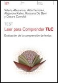 Tapa del libro Test Leer para Comprender - Tlc