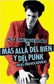 Tapa del libro Más Allá del Bien y del Punk