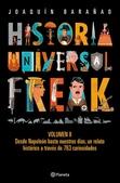 Tapa del libro Historia Universal Freak: Volumen 2