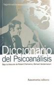 Tapa del libro Diccionario de Psicoanalisis