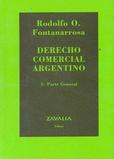 Tapa del libro Derecho Comercial Argentino  - 1 Parte General -