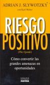 Tapa del libro Riesgo Positivo
