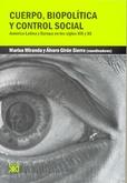 Tapa del libro Cuerpo Biopolitica y Control Social