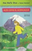 Tapa del libro Alto como el Aconcagua