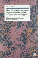 MANUAL PARA EL TRATAMIENTO COGNITIVO CONDUCTUAL VOLUMEN 1