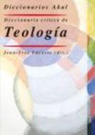 DICCIONARIO AKAL CRITICO DE TEOLOGIA