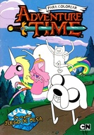 ADVENTURE TIME PARA COLOREAR
