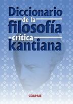 Diccionario de la filosofía critica kantiana