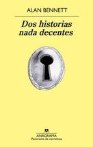 Tapa del libro DOS HISTORIAS NADA DECENTES