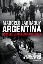 Tapa del libro ARGENTINA. UN SIGLO DE VIOLENCIA