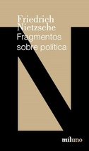 Tapa del libro FRAGMENTOS SOBRE POLITICA