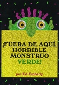 Tapa del libro FUERA DE AQUI HORRIBLE MONSTRUO VERDE TD