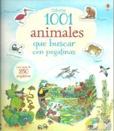 1001 animales que buscar con pegatinas