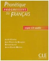 Phonétique progressive du français Débutant - 3 CD audio