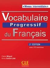 Vocabulaire Progressif Du Francais Intermediaire (2e édition) Livre + Audio CD