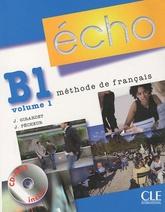 Écho B1.1 livre de l'élève + portofolio + CD audio