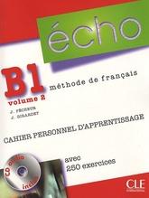 Echo B1 volume 2 - Cahier Personnel D'Apprentissage + CD-Audio + Corriges