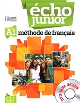 Écho Junior 1 - A1 - livre de l'élève + DVD-Rom