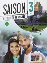 Saison 3 : livre de l'eleve + CD + DVD