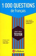 1 000 questions de français
