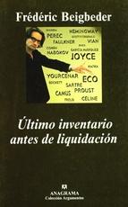 ULTIMO INVENTARIO ANTES DE LIQUIDACION