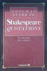 Longman guide to Shakespeare quotations (Usado)