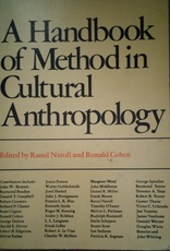 A Handbook of Method in cultural Anthropology (Usado)