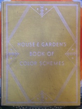 House and gardens book ok color schemes (Usado)